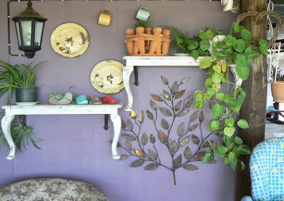 Wall art at Desert Rose